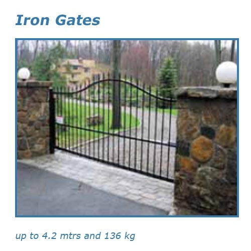 Automatic gate openers solar powered